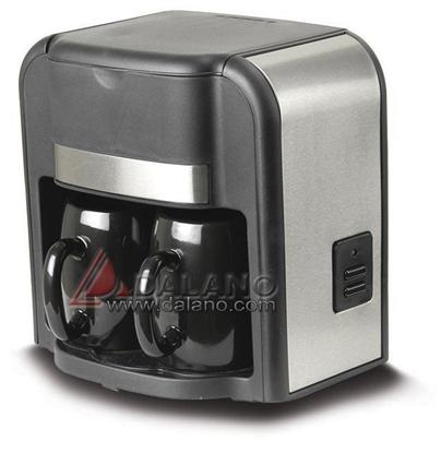 تصویر قهوه جوش دو فنجانه کاپر Kaper CM402 BS