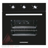 فر برقی توکار گوسونیک Built-In Inox Electric Oven مدل GEO-5060